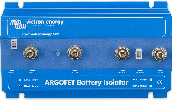 Argo FET Batteriisolatorer