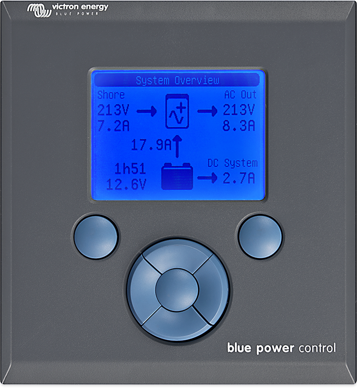 Blue Power-panel
