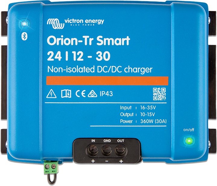 Orion-Tr Smart DC-DC Ikkeisolert lader