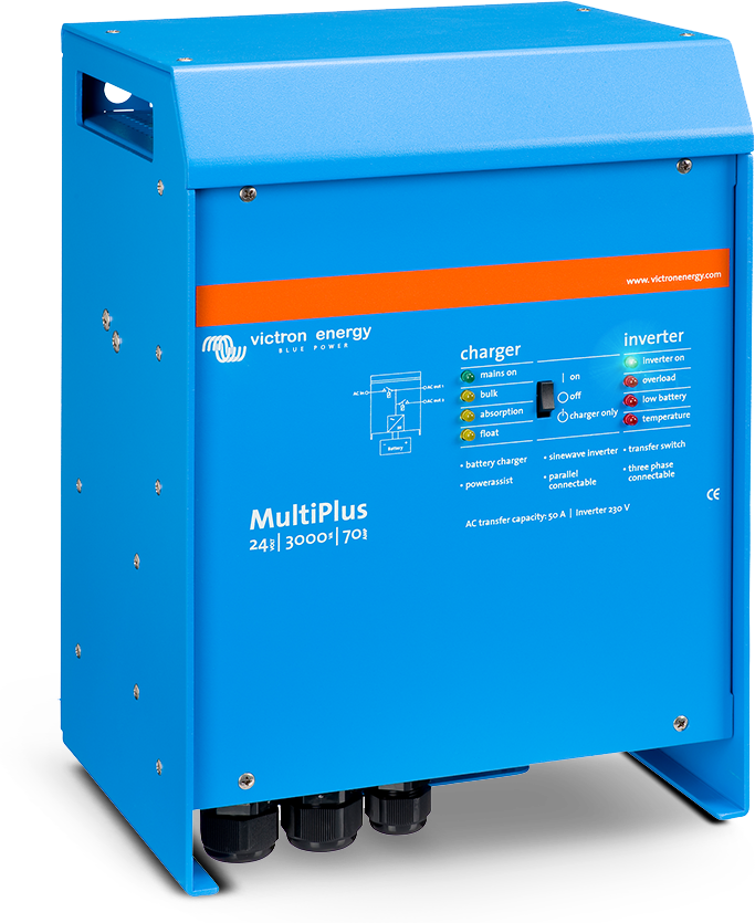 Victron Multiplus compact 12V1600W70A inverterlader | CT